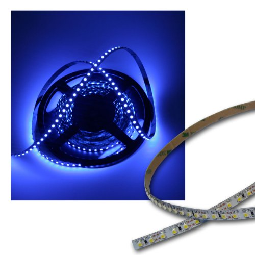 40 Cm-flexible à lED 48 sMD pCB-bleu/blanc