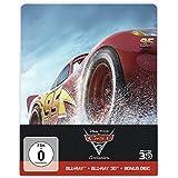 Cars 3: Evolution Steelbook (3D BD+2D BD+Bonusdisc) [3 DVDs] [3D Blu-ray]