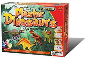 Supercast Dinosaurs Fridge Magnets to Mould and Paint