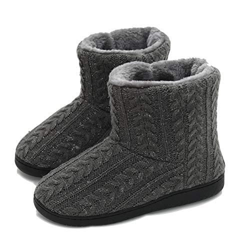 professionista di vendita caldo tessuti pregiati bellissimo a colori AONEGOLD Pantofole Donna Stivaletto Pantofole da Casa ...