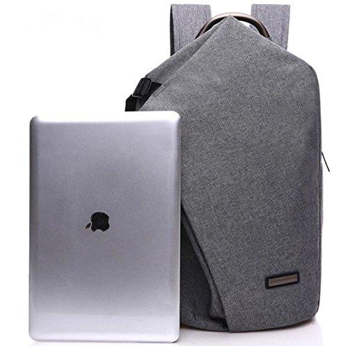 YAAGLE Herren Damen hochwertig Schulranzen business Laptoptaschen einzigartig Rucksack schwarz