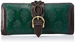 Holii Womens Wallet (Green Brown)