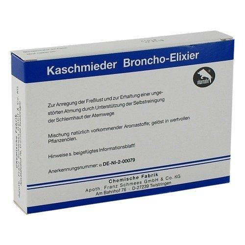 Kaschmieder Broncho-Elixier, 18 pièces sacs