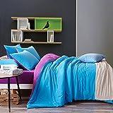 Longless Farbe, das Bett, die Bettdecke, Bettbezug, Steppdecke, Bett, Verbrauchsmaterial, Kit