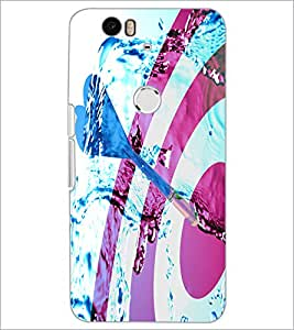 PrintDhaba Dart Board D-4864 Back Case Cover for HUAWEI NEXUS 6P (Multi-Coloured)