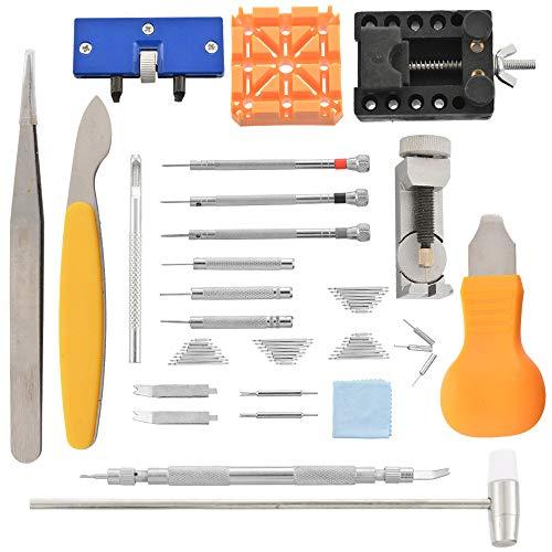 lchde Uhrenwerkzeug Set 18tlg Uhrmacherwerkzeug Armband Uhren Reparatur Werkzeug Tasche Watch tool in Nylontasche Reparatur Set