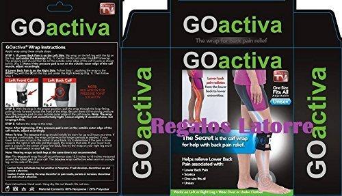 RODILLERA TERAPÉUTICA 'GO ACTIVA', es la ORIGINAL, NO ACEPTE IMITACIONES. Anunciada en TV.