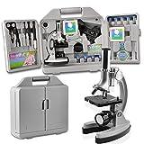 Die besten Spielzeug und Kinder Mikroskope - SOLOMARK Mikroskop Kit für Anfänger und Kinder Bewertungen
