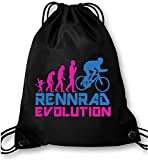 EZYshirt® Rennrad Evolution Turnbeutel