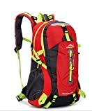 Demarkt 40L Outdoor Sports Hiking Camping Travel Cycling Waterproof Backpack for Woman and Man