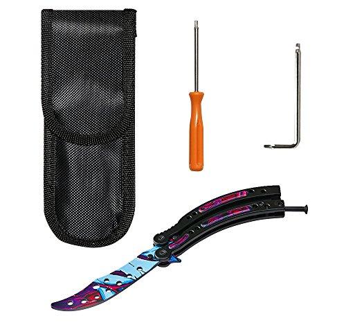 Not Sharp Ultronobama New CSGO Butterfly Knife Sport Cross Fire Go Knife
