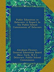 Public Education in Delaware: A Report to the Public School Commission of Delaware