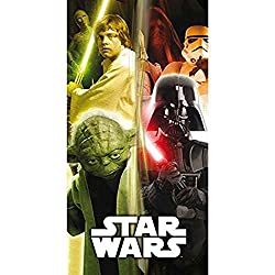 "Deluxe Star Wars 140 X 70 Cm ""Good Vs Evil"" Beach & Bath Towel"