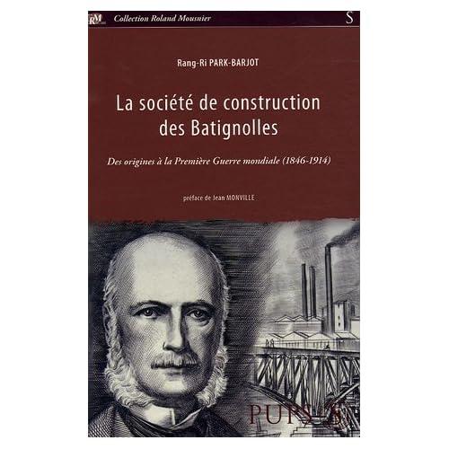 La Société de construction des Batignolles : Des origines à la Première Guerre mondiale (1846-1914)