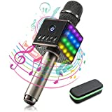 NASUM LED Wireless Karaoke Microphone