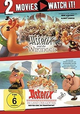 Asterix und die Wikinger / Asterix im Land der Götter [2 DVDs]