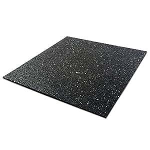 tapis anti vibration etm 60x60cm caoutchouc isonoriant. Black Bedroom Furniture Sets. Home Design Ideas