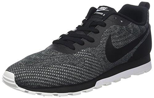 NIKE Herren MD Runner 2 Eng Mesh Sneakers, Schwarz Black/White 008, 45 EU