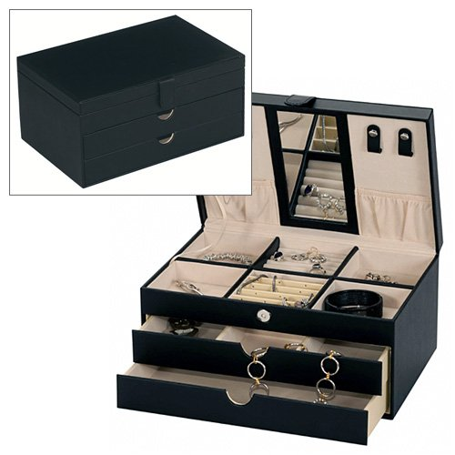 one-week-sale-victoria-black-bonded-leather-jewellery-box-by-mele-co