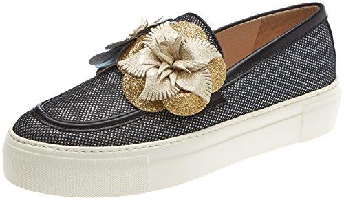 Gadea Damen 40967 Slip On Sneaker Mehrfarbig (Murano Negrosoft Negro)