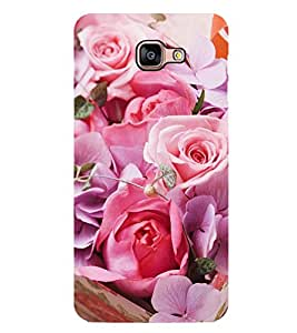 Vizagbeats Pink Roses Back Case Cover for SAMSUNG GALAXY A9