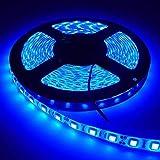 """5 Meter""""Blue"""" Color Led Strip Light,Series Light,Decoration Light,(with 5050 SMD Led, 2amp Driver""""Input:115-220v,Output:12v"""") Best Quality Light"""