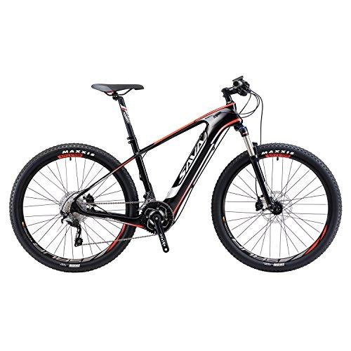 SAVADECK bicicleta eléctrica de montaña de fibra de carbono de 27,5 pulgadas juego de bielas de bicicleta de montaña en...