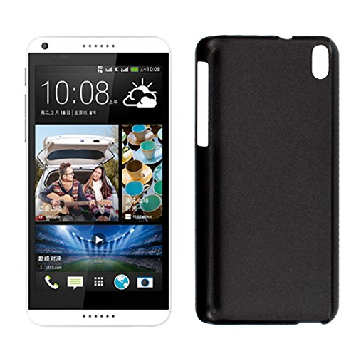 Hard Plastic Back Case Cover Bumper Protector for HTC Desire 816 Black