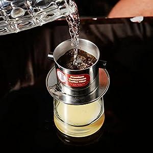 ACCIAIO Inossidabile portatile Vietnam VIETNAMITA Caffè semplice Drip Filtro Maker Tazza