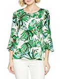 Brax Damen Bluse Style.Vanda 48-9637, Grün (Green 37), 42