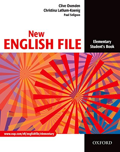 New English File. Elementary Student's book. Per le Scuole superiori
