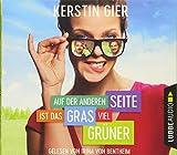 Auf der anderen Seite ist das Gras viel grüner: Filmcover.                                                              . - Kerstin Gier