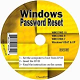 myDriversPlus ✅ Windows password reset disco per togliere il recupero Premium CD Forgotten Windows password su Windows 10, Windows 7, Vista, XP–Uso illimitato. Per desktop e laptop