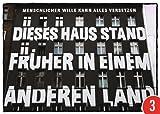 3er-Pack: Postkarte A6 +++ STREET ART von modern times +++ KLASSISCHES FERTIGHAUS +++ TOM BÄCKER