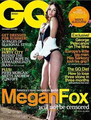 British GQ Magazine - July 2009 (Megan Fox)