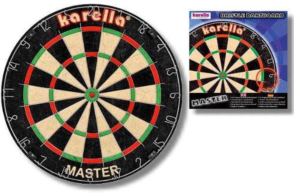XQMAX Michael van Gerwen Dartscheibe Darts Steeldarts 6 Pfeile Dartmatte Set