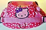 Hundegeschirr S M L XL XXL Brustgeschirr bestickt Pink Katze für kleine und mittelgroße Hunde