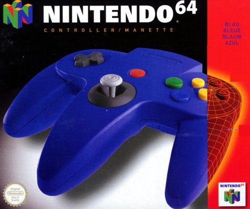 Nintendo 64 - Controller blau (Nintendo 64-controller Blau)