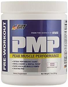Tag Ltd Gat Pmp (Peak Muscle Performance) Next Generation Pre Workout Powder - Berry Blast, 30 Servings