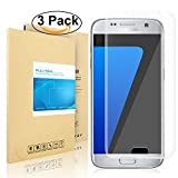 Galaxy S7 Schutzfolie, Pulesen [3 Stück] [Nicht für S7 Edge] Samsung Galaxy S7 Folie [Upgrade Version] [HD Klare, Blasenfreie] Displayschutzfolie Displayschutz Screen Protector für galaxy S7