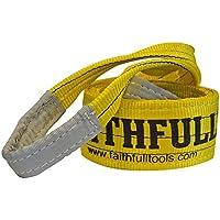 Faithfull Tools faitdls3t2m 3Tonne 90mm x 2m Lifting Sling gelb–blau