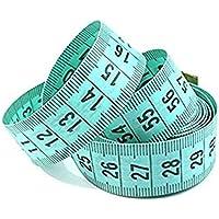 Tb_koop Regla de Tres Piezas Verde DE 1,5 m Regla de Costura Regla para Coser Cinta métrica