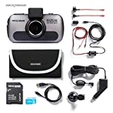 Nextbase 612GW Ultra HD 4K In-Car Dash Camera Video Recorder with WiFi and GPS, Bundle Kit with Mount, Hardwire Kit, 32GB SD Card and Case