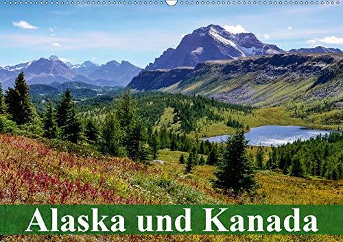 Alaska und Kanada (Wandkalender 2020 DIN A2 quer): Die unberührte Natur und Tierwelt in Kanada und Alaska (Monatskalender, 14 Seiten ) (CALVENDO Orte)