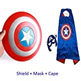 #6: Fancydresswale Captain America Shield with Accessories for kids (Shield + Cape)