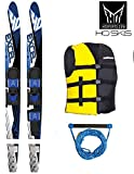 HO SPORTS EXCELL Wasserski Package Combo Ski Paar-Ski yellow 170cm