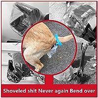 Recogedor Excrementos Perro Plegable Mascota Gato Pinza De Mandibula Scoop con Bolsa Excrementos,M