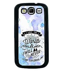 PrintVisa Designer Back Case Cover for Samsung Galaxy S3 I9300 :: Samsung I9305 Galaxy S Iii :: Samsung Galaxy S Iii Lte (pouch case cover holder bodypanels)