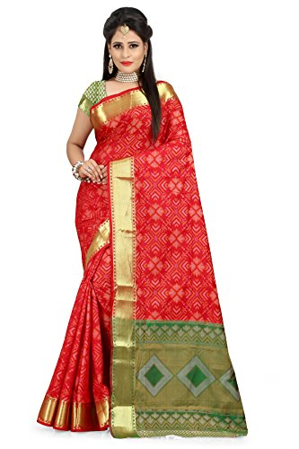 Inheart Fashionable Banarasi SILK Saree for women made of the Best Quality...