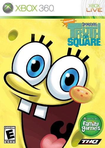XBOX 360 SPONGEBOB TRUTH OR SQUARE [Import américain] (Spiele Für Xbox 360 Spongebob)